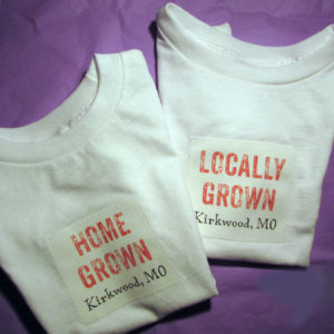 Baby Onesie or Tee – HomeGrown or Locally Grown