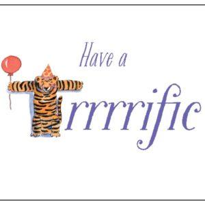 Zoo Animals Birthday Card T