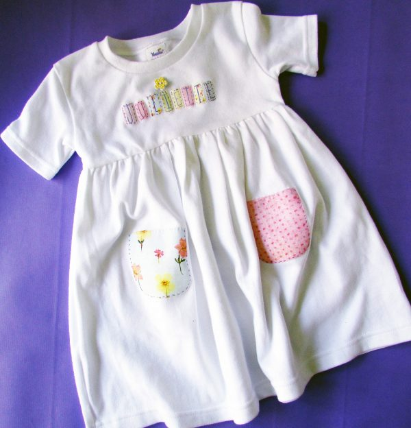 personalized dress for infants/toddlers