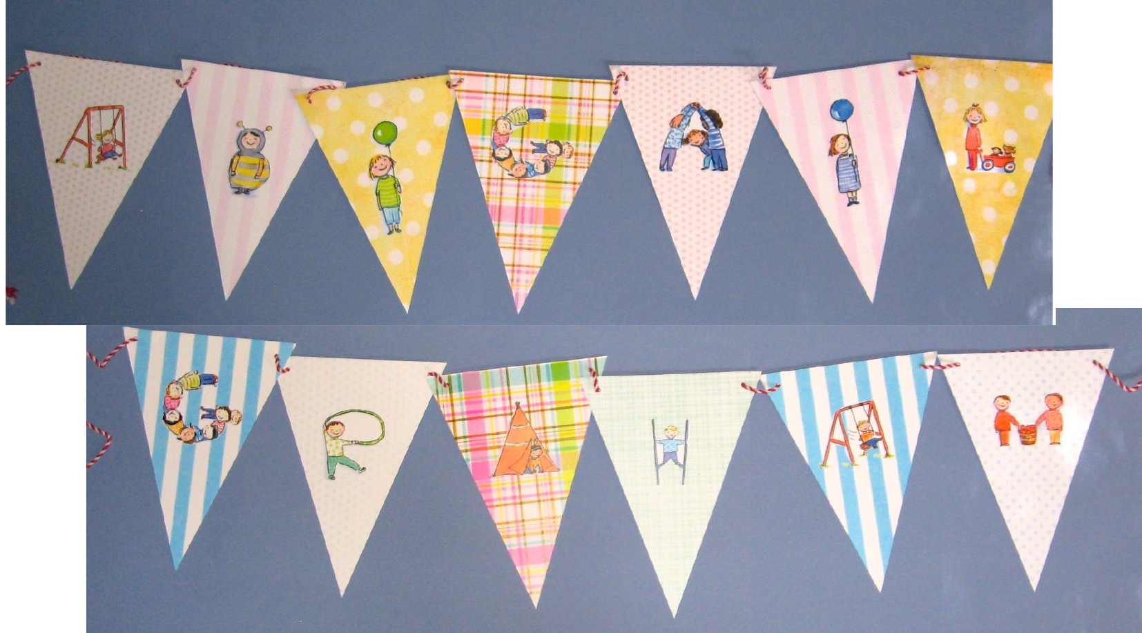 child s personalized name banner goodbuddy