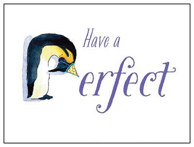 Zoo Animals Birthday Card Penguin Goodbuddy