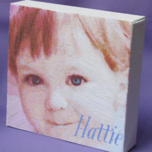 Personalized Child Portrait