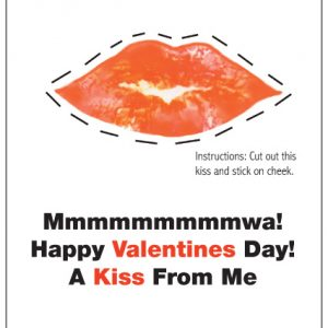 A Kiss From Me Valentine