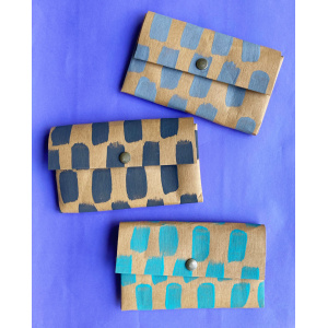 Handmade Washable Paper Wallets